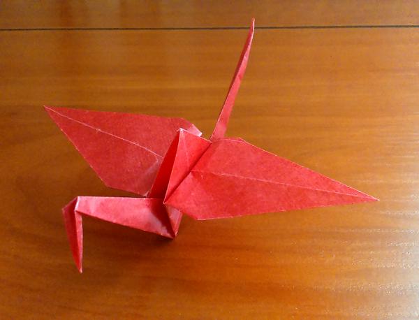 Crane by AquilaHeliaca