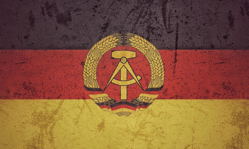East Germany grunge flag by KisaragiIvanov on DeviantArt