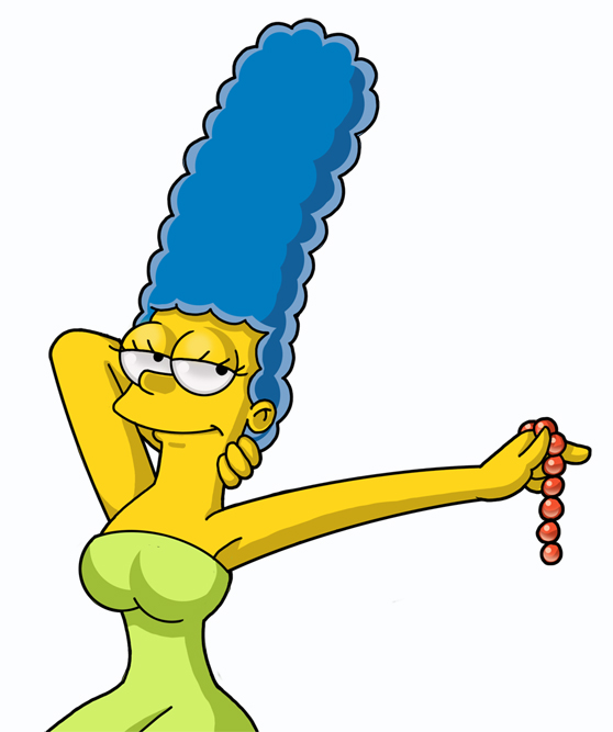 Marge Takes It Off... by ChadRocco