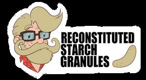 Reconstituted Starch Granules