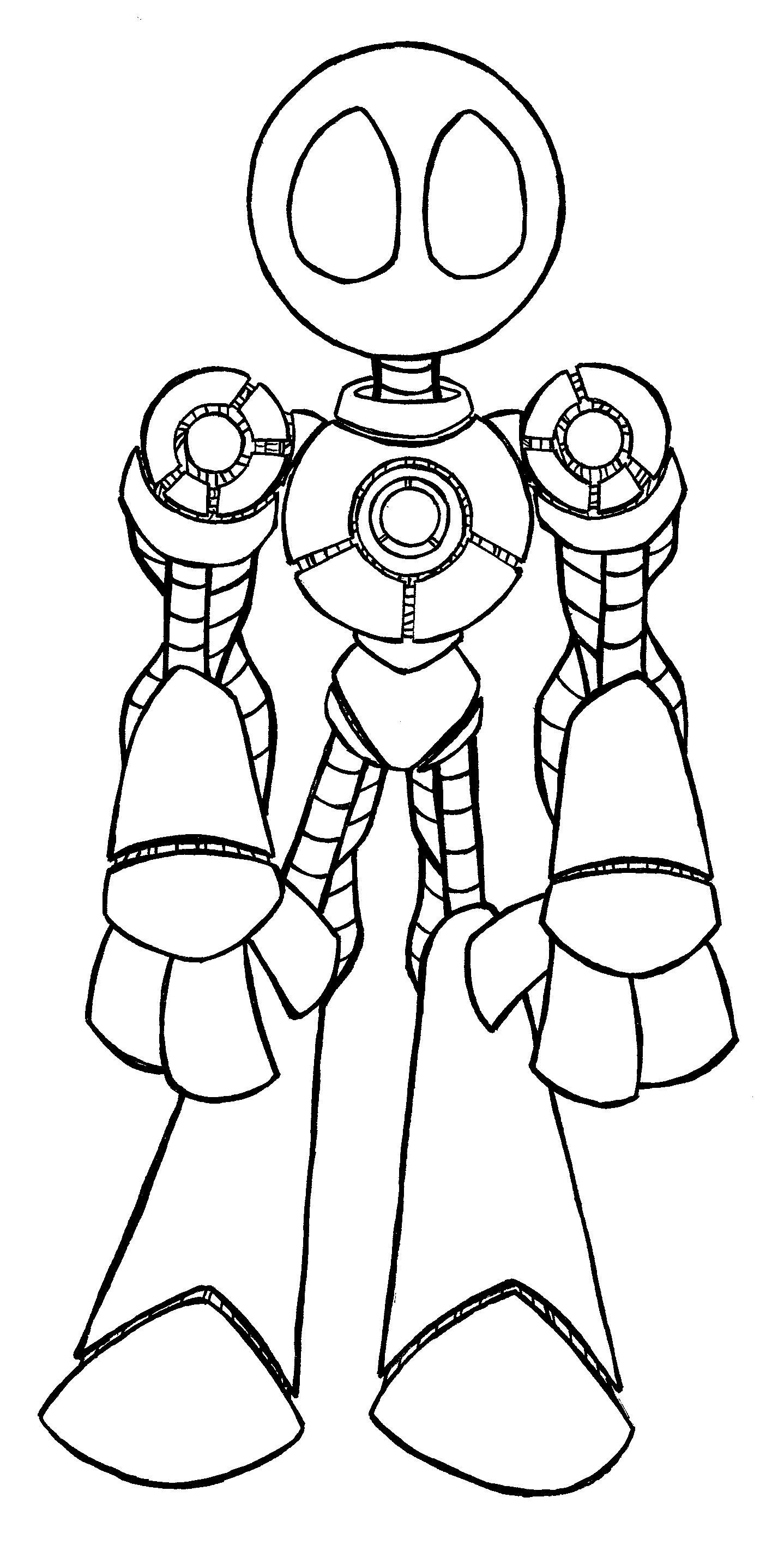 Him,Robot by ChadRocco on DeviantArt