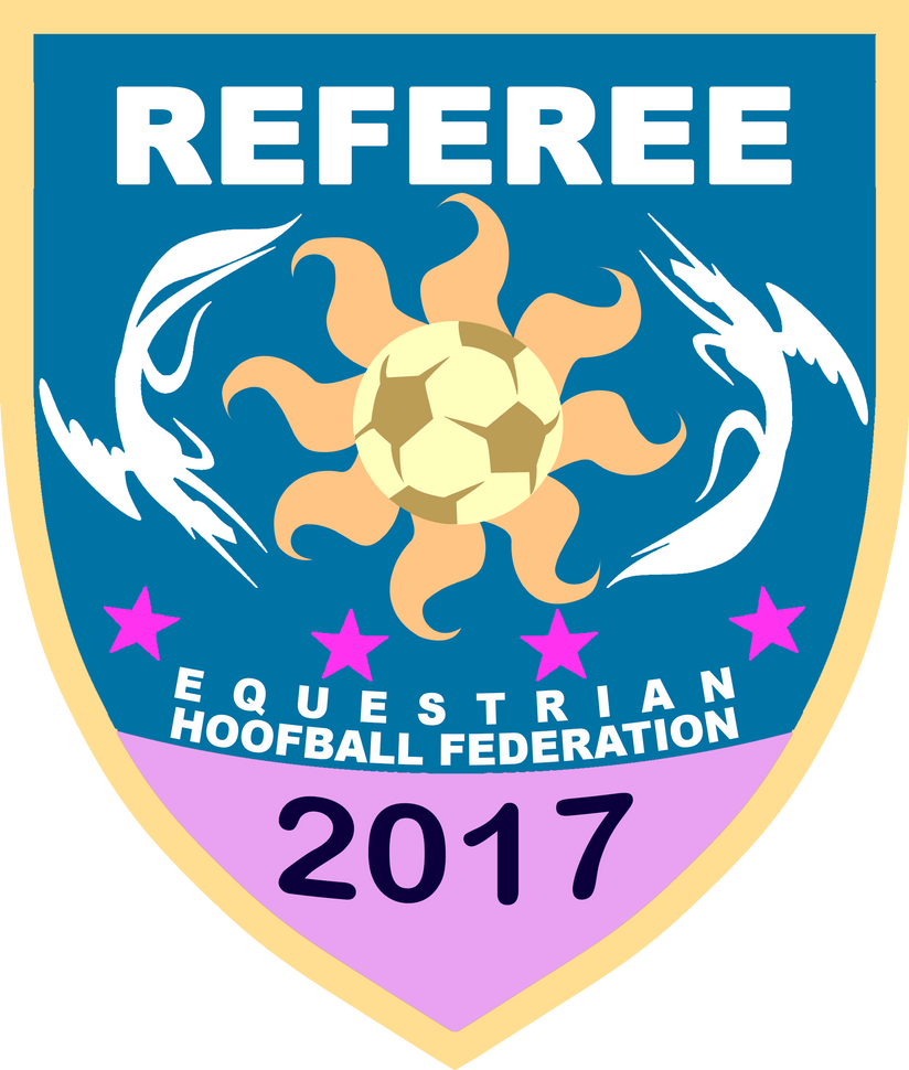 EQHF Referee Badge (2017 Day Ver.) by RedCard94