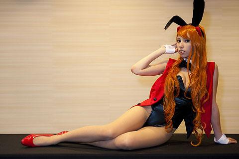 Asuka from Evangelion Dealer Bunnysuit Ver.