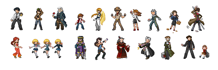 Trainer Sprite Spree By Oniwanbashu