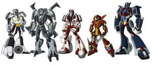 TFA Protectobots Colored