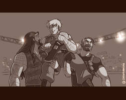 WWE: For a moment like this by Oniwanbashu