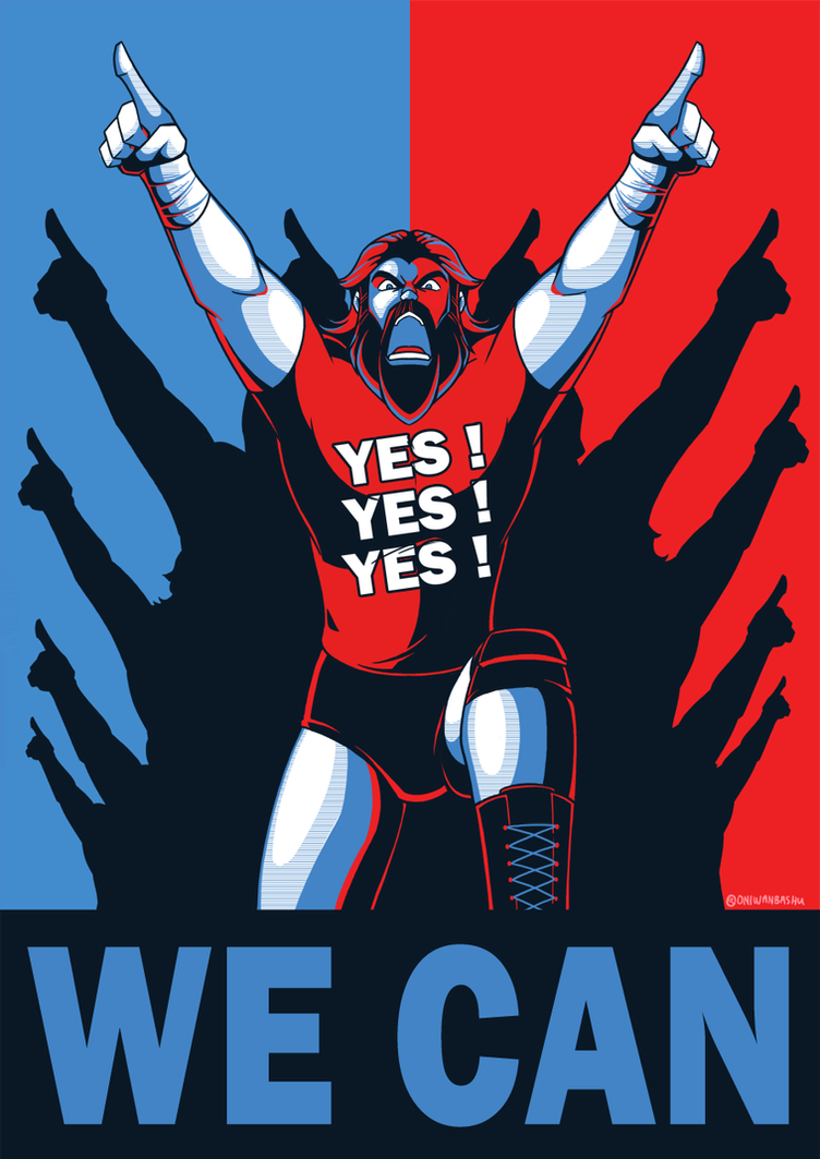 Wwe yes we can by oniwanbashu on deviantart for Bett yes we can