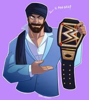 WWE: Maharajah by Oniwanbashu