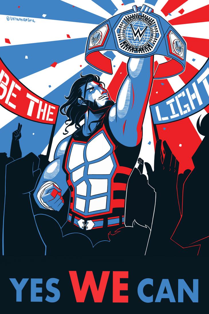 WWE: Man of the People by Oniwanbashu