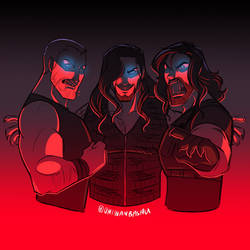 WWE: Wolves of War by Oniwanbashu