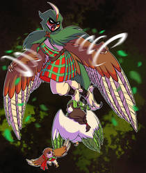 Shadowlocke: Tartan Terror by Oniwanbashu