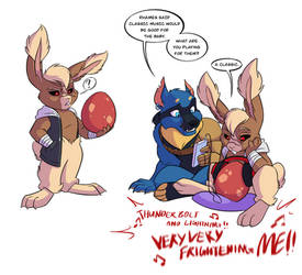 Shadowlocke: Reluctant Easter Bunny