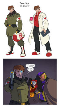 TF!Humanized: The Good Doctor
