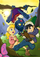 Kurt, Stefan and Jimaine by Oniwanbashu