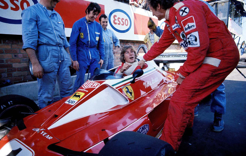 James Hunt In Niki Lauda S Ferrari Monaco Gp 1976 Formula1