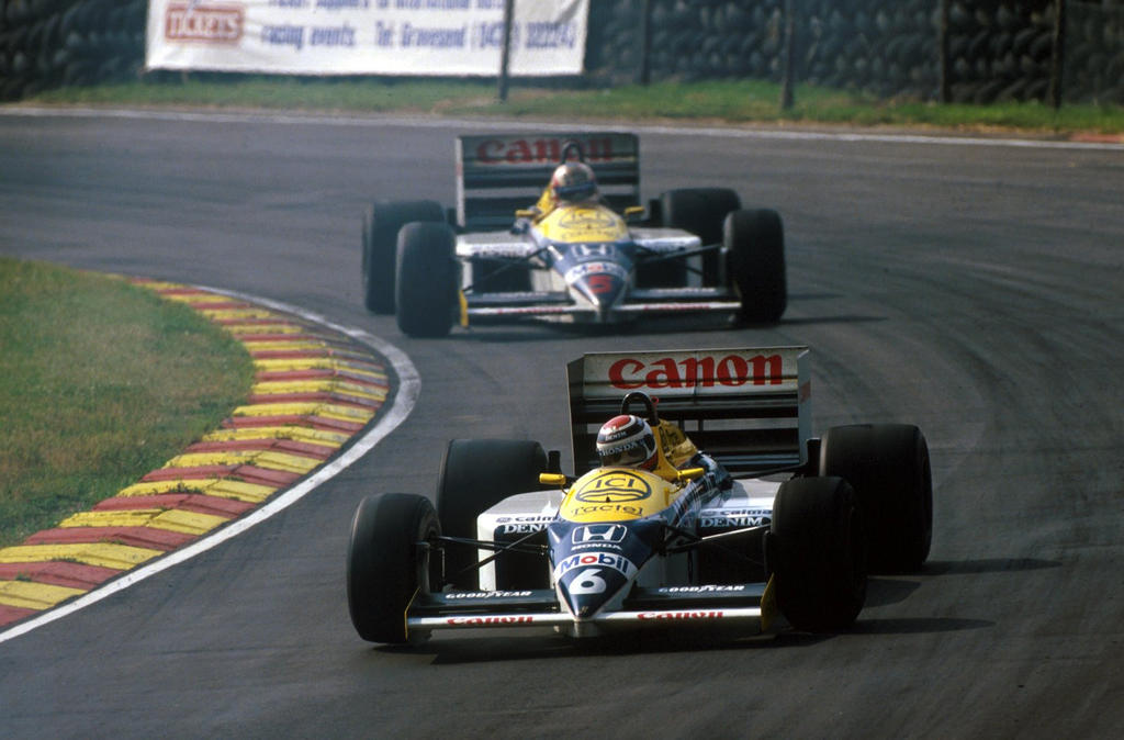 Nelson Piquet   Nigel Mansell (Great Britain 1986) by F1-history