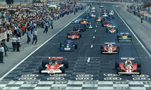 1976 French Grand Prix Start by F1-history