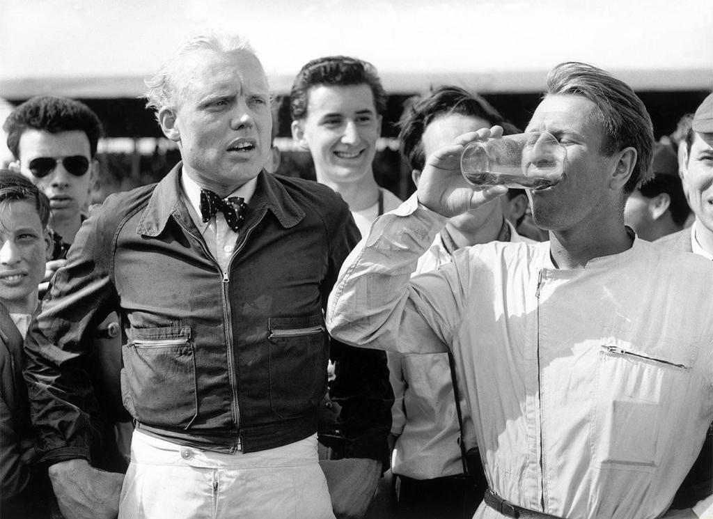 Mike Hawthorn | Peter Collins (Silverstone 1958) by F1-history