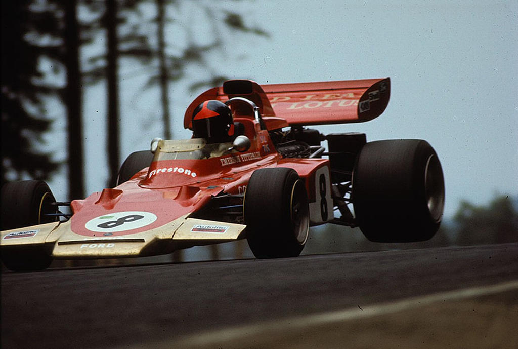 Emerson Fittipaldi (Germany 1971) by F1-history