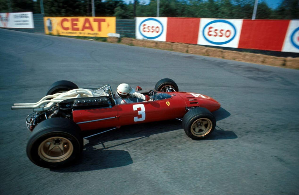 Mike Parkes Belgium 1967 By F1 History On Deviantart