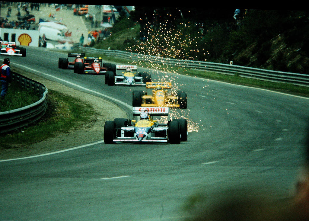 1987 Belgian Grand Prix By F1 History On Deviantart