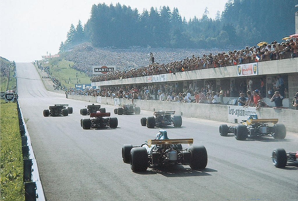 1971 Austrian GP Start by F1-history