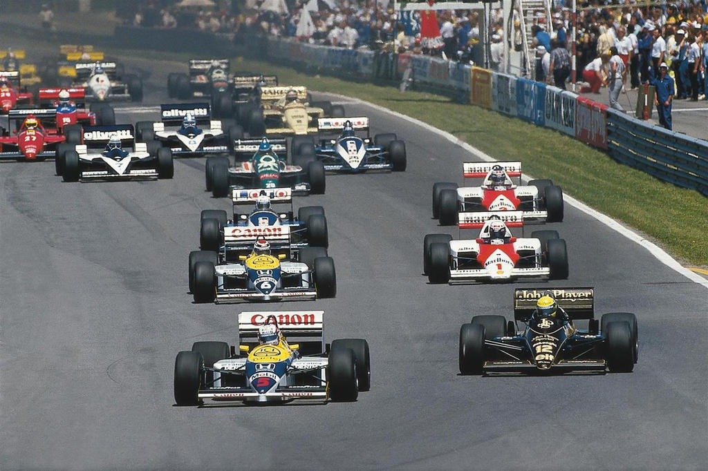 1986 Canadian Grand Prix By F1 History On Deviantart