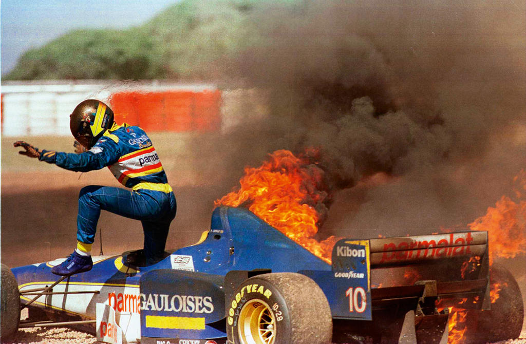 Pedro Diniz (Argentine 1996) by F1-history
