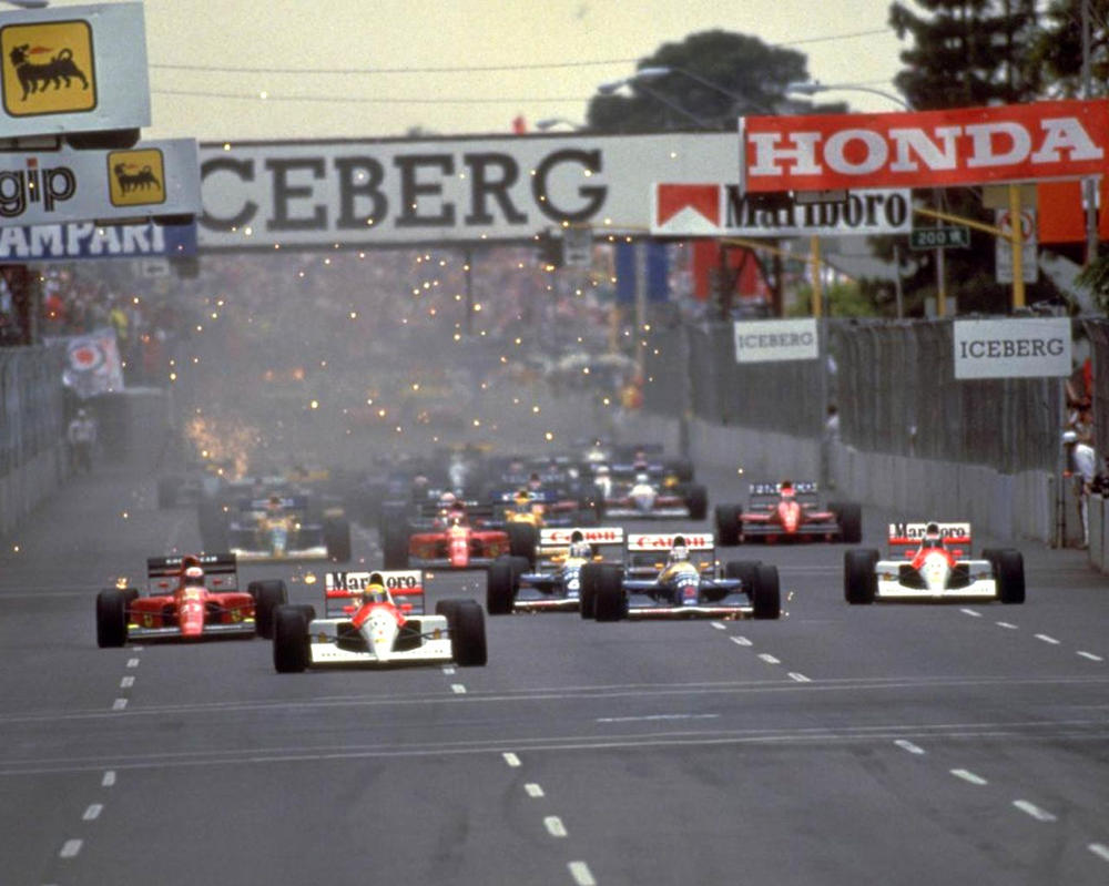 1991 United States Grand Prix Start by F1-history
