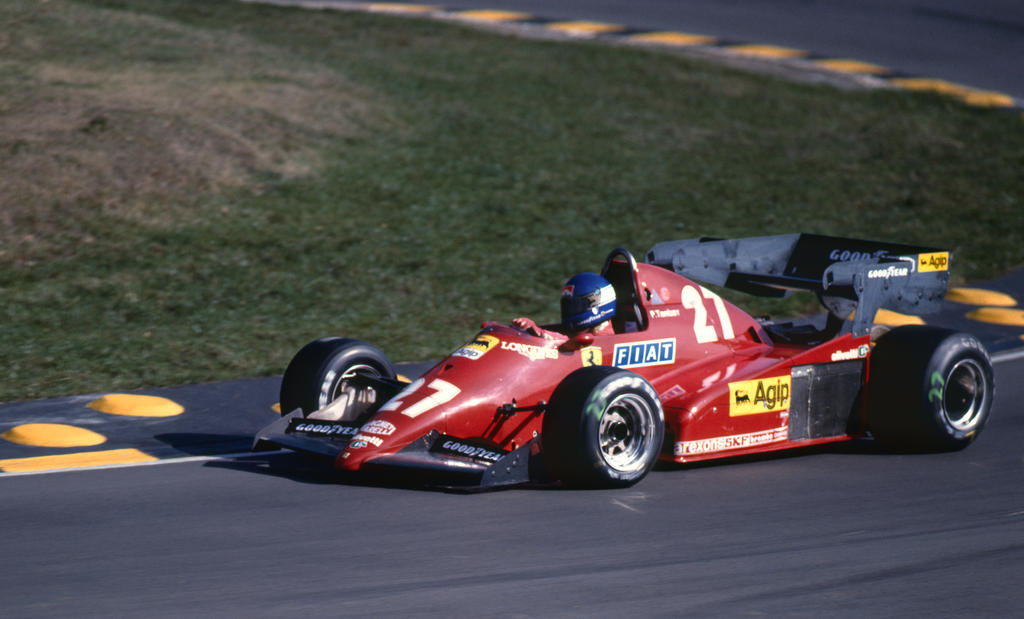 Patrick Tambay Europe 1983 By F1 History On Deviantart