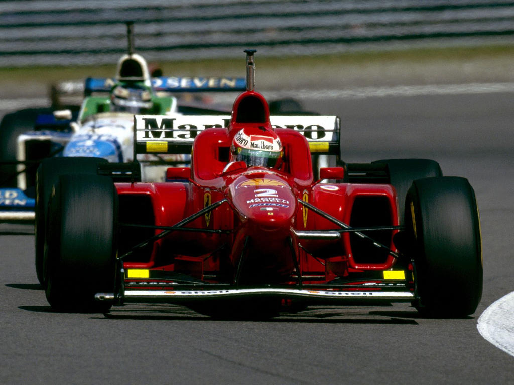 Eddie Irvine Gerhard Berger 1996 By F1 History On