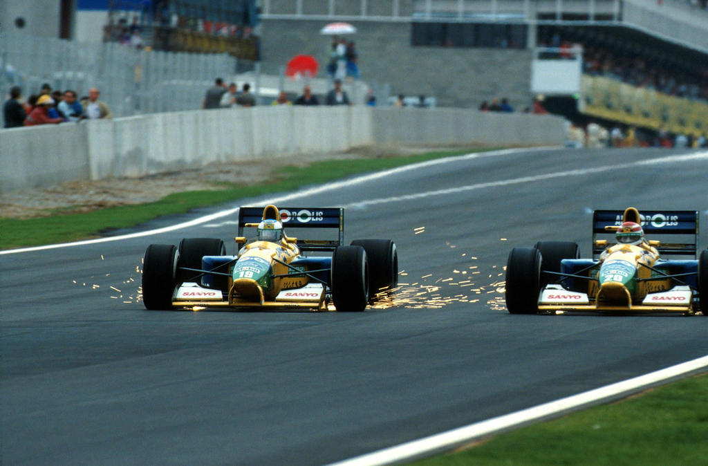 Michael Schumacher | Nelson Piquet (Spain 1991) by F1-history