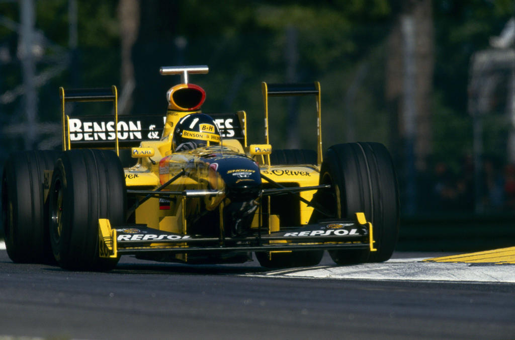 Damon Hill San Marino 1998 By F1 History On Deviantart