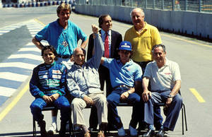 500th F1 WC Race Photo (Australia 1990) by F1-history
