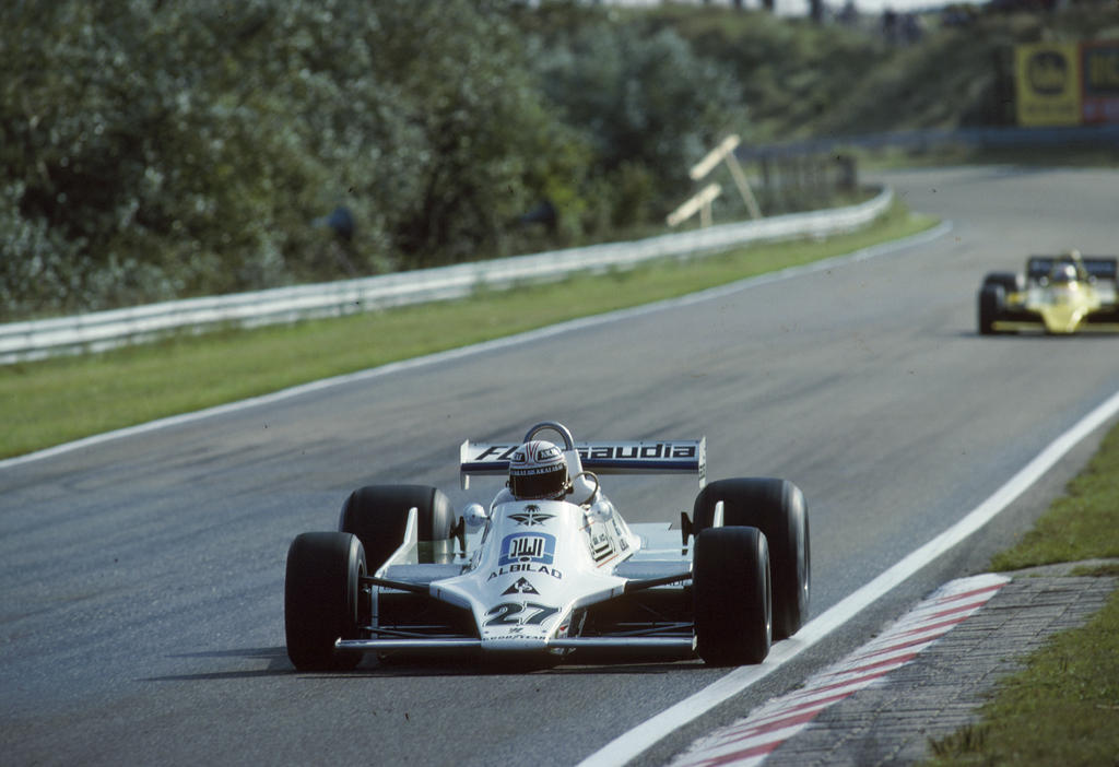 Alan Jones| Hans-Joachim Stuck (Netherlands 1979) by F1-history