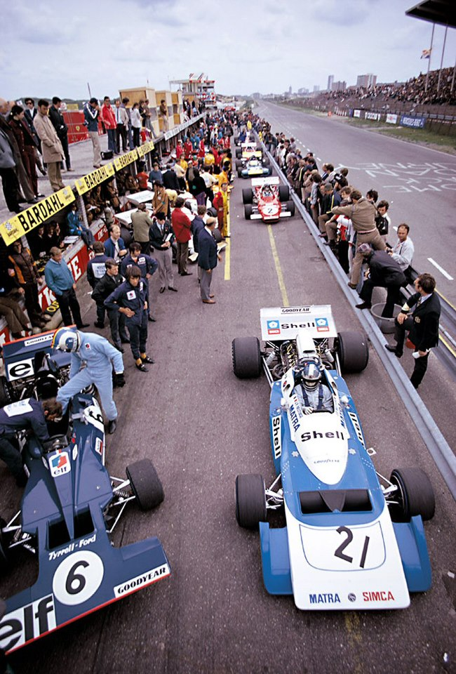 1971 Dutch Grand Prix Pit Lane By F1 History On Deviantart