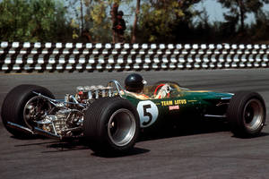 Jim Clark (Mexico 1967) by F1-history