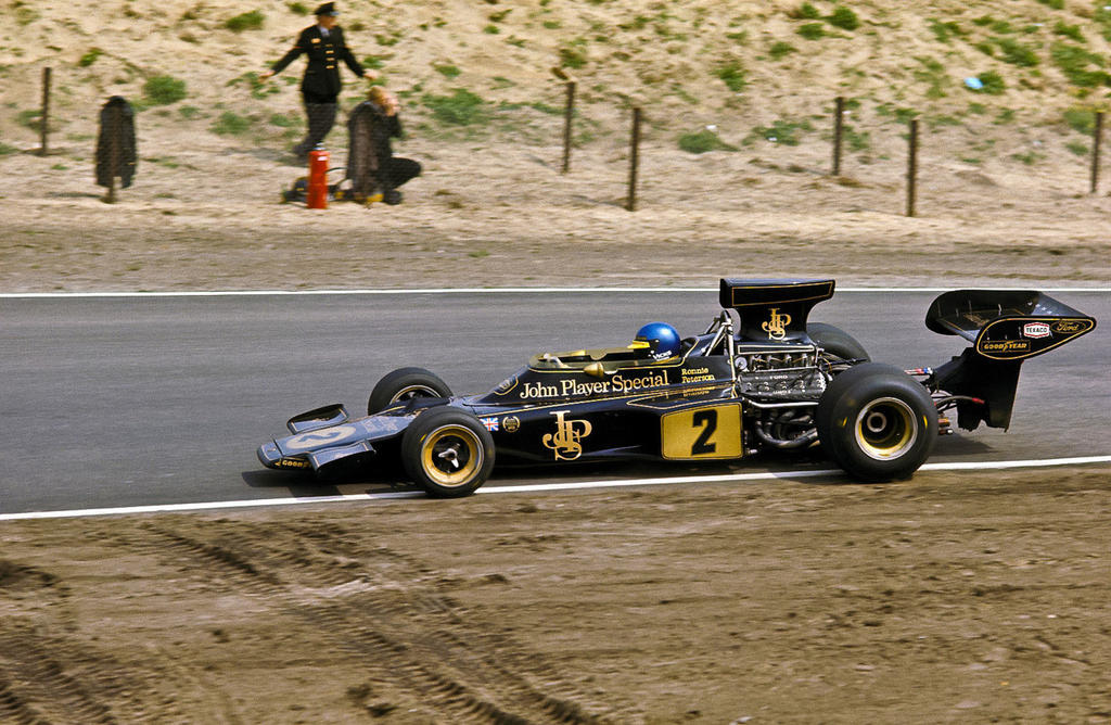Ronnie Peterson Netherlands 1973 By F1 History On Deviantart