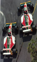 Alex Zanardi | Johnny Herbert (Monaco 1993)