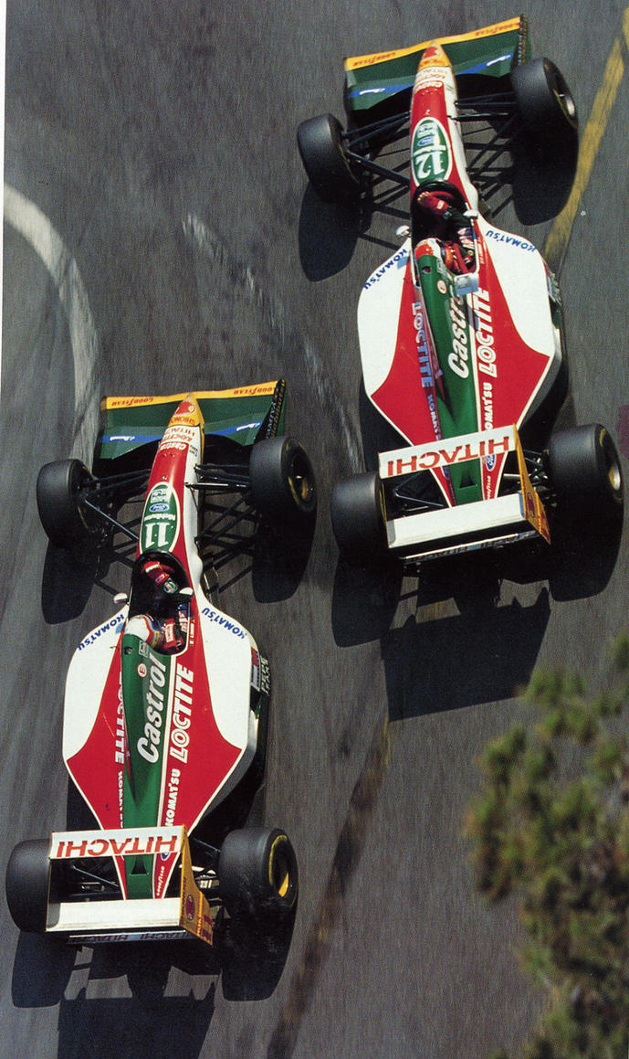 Alex Zanardi | Johnny Herbert (Monaco 1993) by F1-history