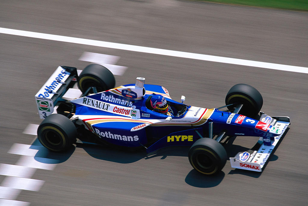 Jacques Villeneuve San Marino 1997 By F1 History On