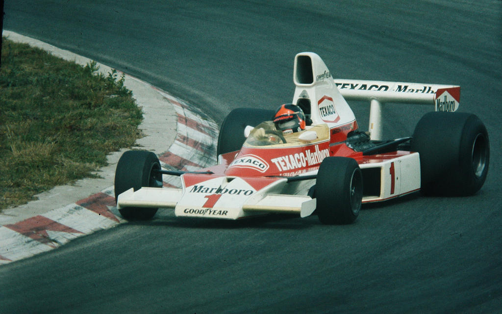 Emerson Fittipaldi (Netherlands 1975) By F1-history On