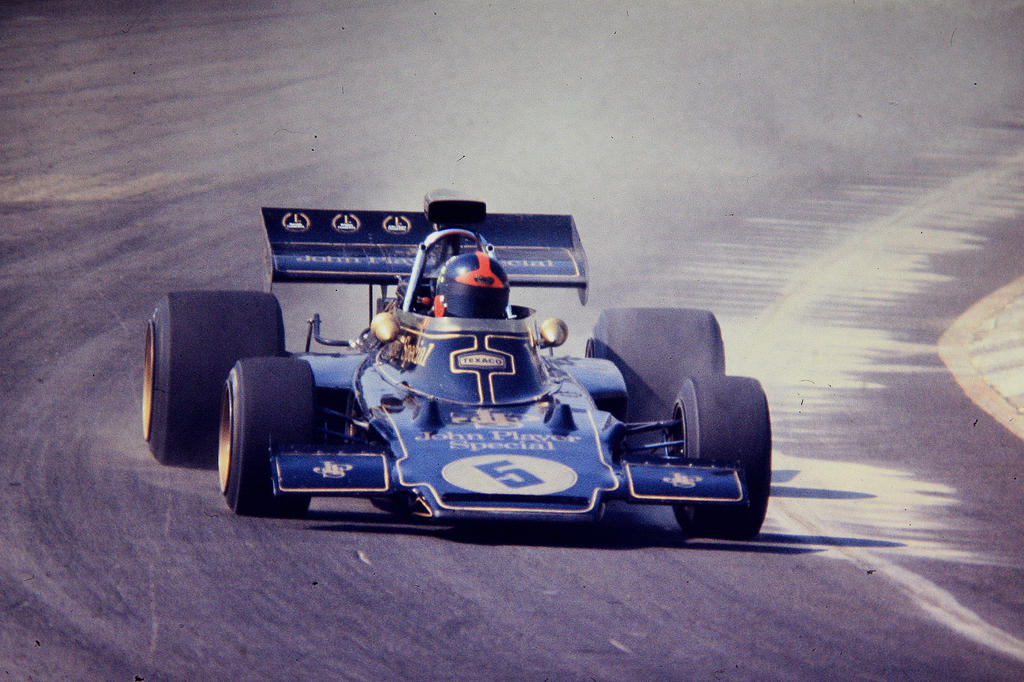 Emerson Fittipaldi (1972 Rothmans 50000) By F1-history On