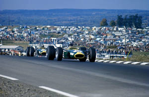 Graham Hill   Jim Clark (United States 1967) by F1-history