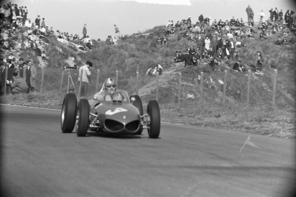 Wolfgang Von Trips Netherlands 1961 By F1 History On