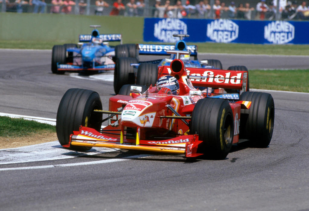 Heinz Harald Frentzen San Marino 1998 By F1 History On