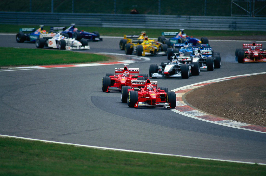 1998 Luxembourg Grand Prix By F1 History On Deviantart