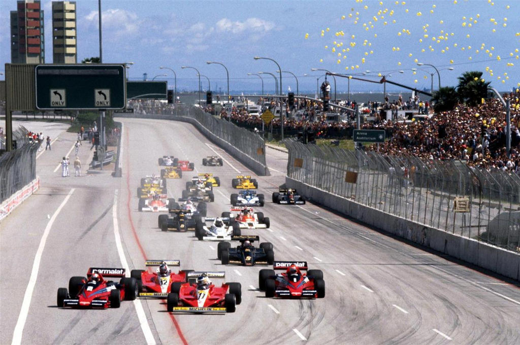 1978 United States Grand Prix West Start By F1 History On