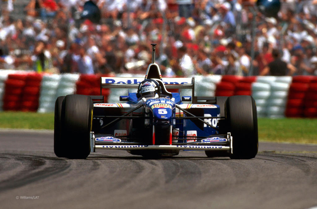 Damon hill canada 1996 by f1 history on deviantart for Domon canada