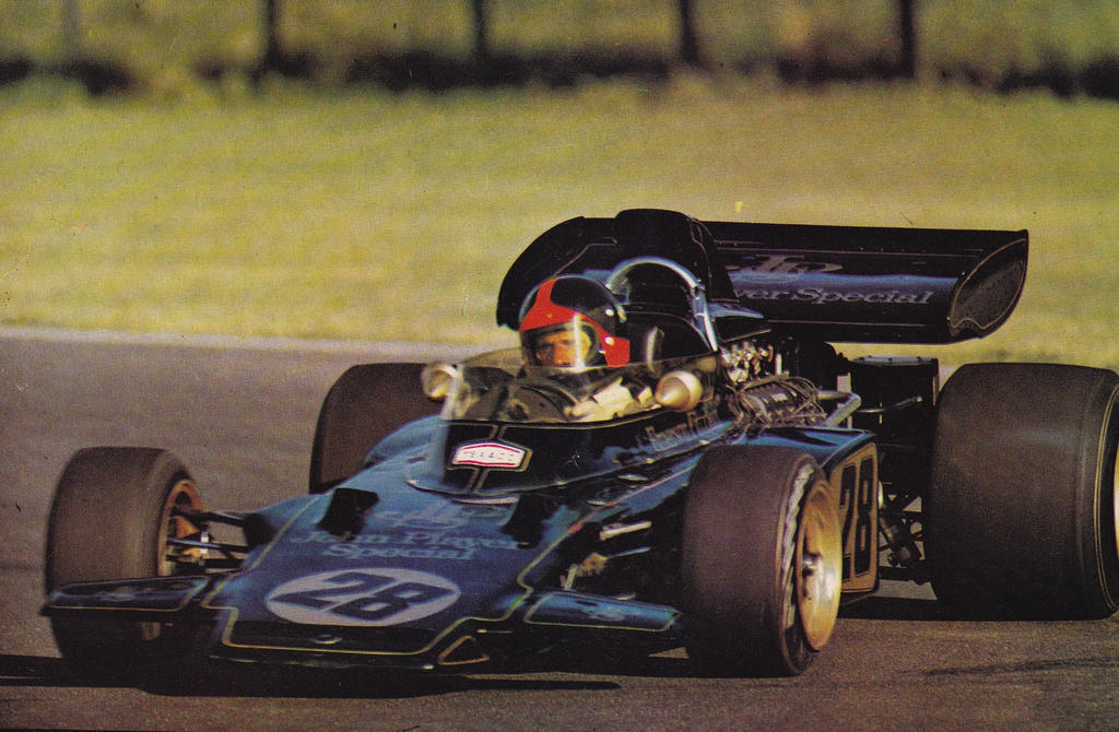 Emerson Fittipaldi (Argentine 1972) By F1-history On